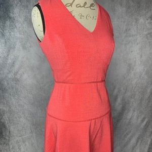Ivanka Trump Size 4 Tangerine Shift Dress